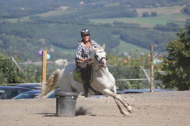 Jeux western à poney
