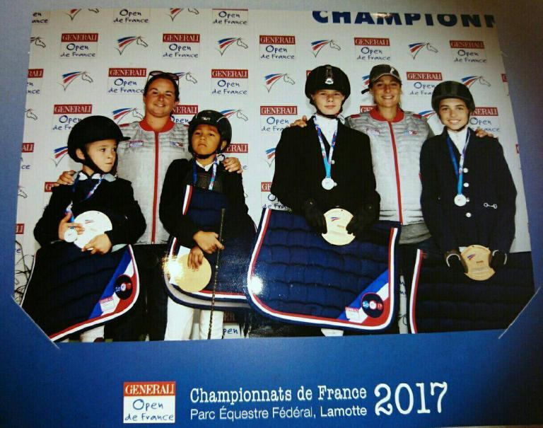 Elevage du Rigodon  Championnats de France 2017 Ewen Lana