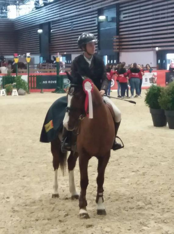 Ewen lLana et Une Fille de Blonde 2eme CSO as poney 2 2017