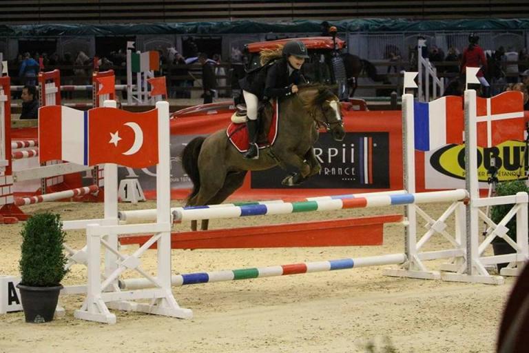 Tango Charly Tilia et Luna poney 1 d'equita 2016