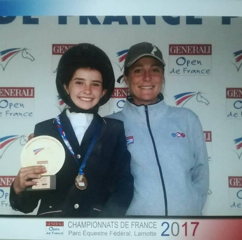 championne de france Ninon vidal