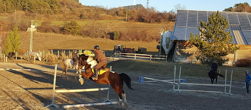 Cours equitation gap jarjayes