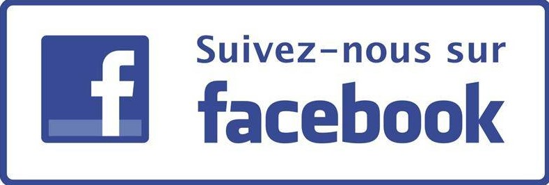 Suivez toute l'actualité sur notre page Facebook !
