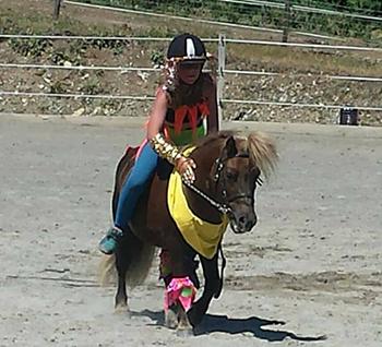 aniversaire au poney club gap